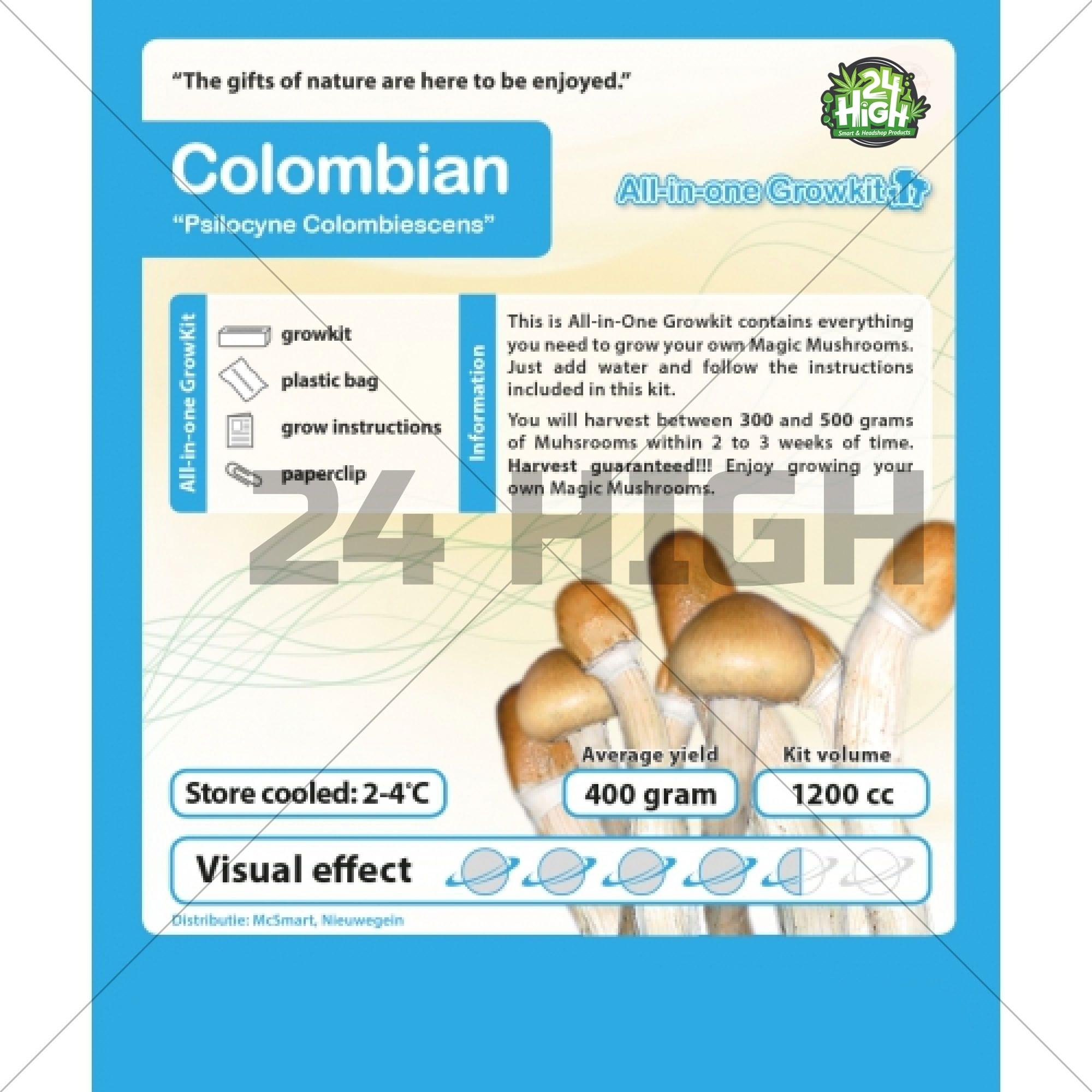 Colombia, Kit de Cultivo de Setas