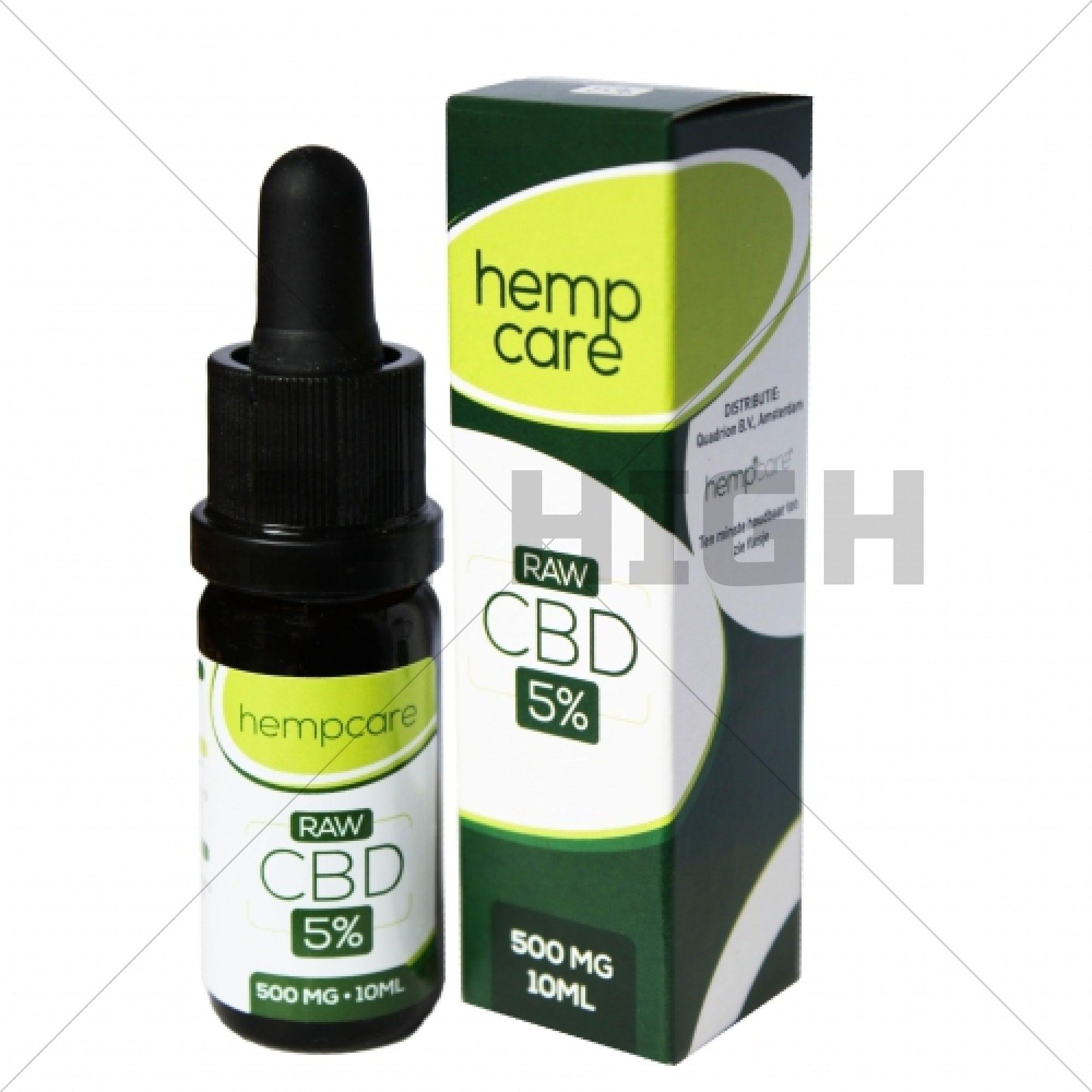 Hempcare RAW - 5% CBD