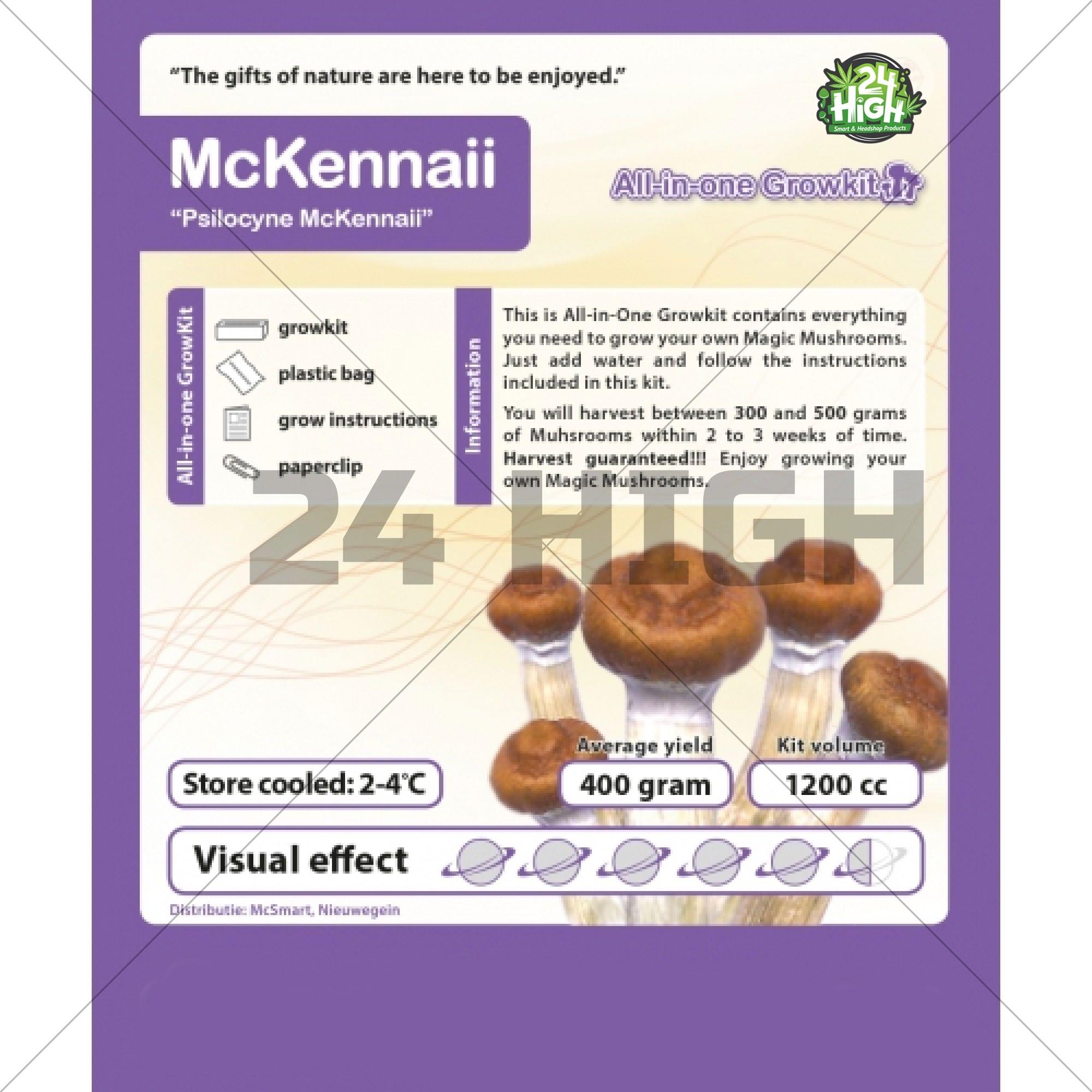 McKennaii Kit de Cultivo de Setas