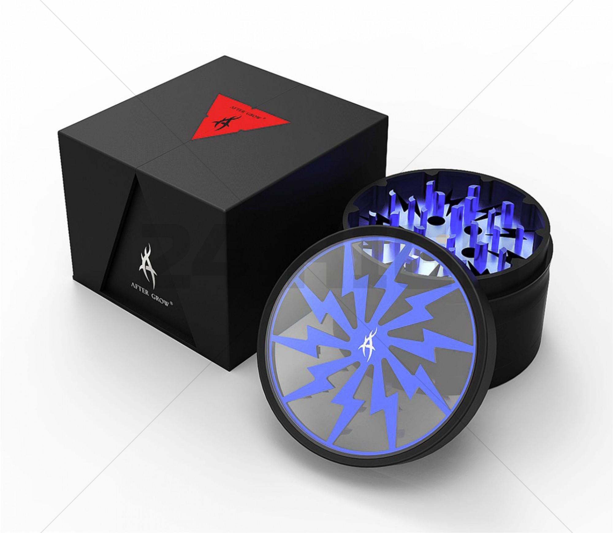 Grinder Aluminium Ø 62 mm 'After Grow' - Color Azul