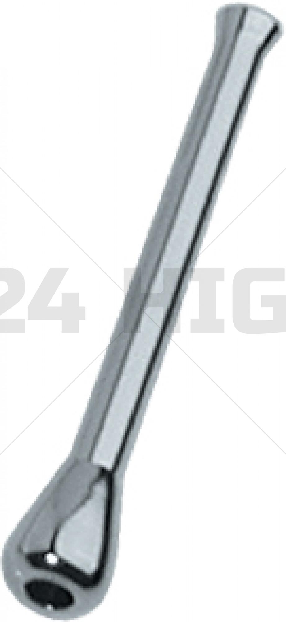 Brass Nickel Plated tubo de rapé
